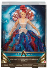 Image: Aquaman Movie Fashion Doll: Mera  (Royal Gown) - Mattel Toys