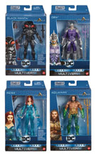 Image: Aquaman Movie Multiverse  (6-inch) Action Figure Assortment - Mattel Toys