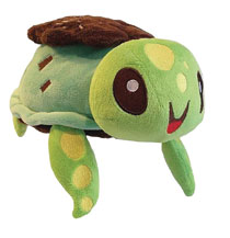 Image: Inki Drop Plush: Mint Chocoturtle Plush  (10.5 inch) - Inki-Drop