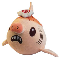 Image: Inki Drop Plush: Ramen Pork Chomp Shark Plush  (11 inch) - Inki-Drop