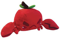 Image: Inki-Drop Plush: Crabapple  - Inki-Drop