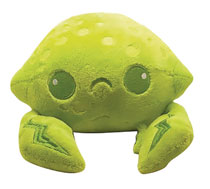 Image: Inki-Drop Plush: Lime Crab  - Inki-Drop