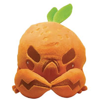 Image: Inki-Drop Plush: Orange Crab  - Inki-Drop