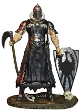 Image: Frazetta Death Dealer Deluxe Action Figure: Light Armor  (3-3/4-Inch) - Monstarz