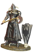 Image: Frazetta Death Dealer Deluxe Action Figure: Heavy Armor  (3-3/4-Inch) - Monstarz