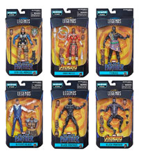 Image: Black Panther Legends Action Figure Assortment  (201901) (6-inch) - Hasbro Toy Group