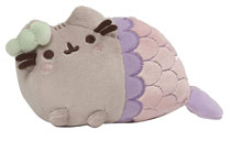 Image: Pusheen Plush: Mermaid with Spiral Shell  (12-inch) - Gund