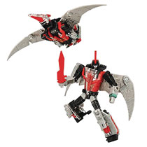 Image: Transformers Gen Selects Deluxe Action Figure: Red Swoop Case  - Hasbro Toy Group