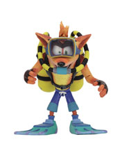 Image: Crash Bandicoot Action Figure: Scuba Crash Deluxe  - Neca