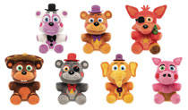 Image: Five Nights at Freddy's Pizza Sim S1 9-Piece Plush Figure Display  - Funko