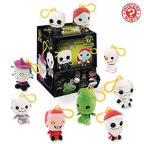 Image: Mystery Minis Nightmare Before Christmas Figure Keychain 18-Piece Blind Mystery Box Display  - Funko