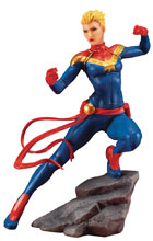 Image: Marvel Comics Artfx+ Statue: Avengers Series - Captain Marvel  - Koto Inc.