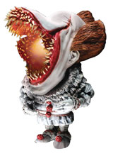 Image: It Real Soft Vinyl Statue: Pennywise Defo  (Scary version w/Light) - Star Ace Toys Limited