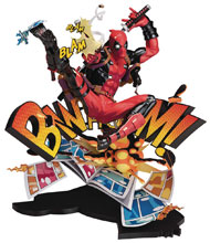 Image: Deadpool PVC Statue: Breaking the Fourth Wall  - Good Smile Company