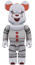 Image: It Bearbrick: Pennywise 1000  - Medicom Toy Corporation