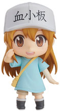 Image: Cells at Work Nendoroid Action Figure: Platelet  - Good Smile Company
