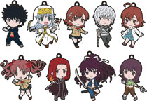 Image: Certain Magical Index III Nendoroid Plus Keychain 9-Piece Assortment  - Good Smile Company