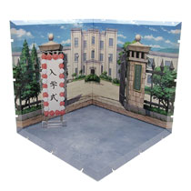 Image: Dioramansion 150 Figure Diorama: School Front Gate  - Plm