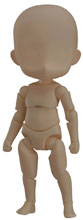 Image: Nendoroid Doll Archetype Action Figure: Boy  (cinnamon color version) - Good Smile Company