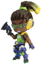 Image: Overwatch Nendoroid Action Figure: Lucio  (classic skin version) - Good Smile Company