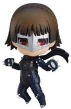 Image: Persona 5 Nendoroid Action Figure: Makoto Niijima  (Phantom Thief version) - Good Smile Company