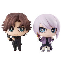Image: Double Decker Chimimega Buddy Series 2-Piece Set: Doug & Kirru  - Megahouse Corporation