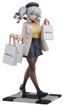 Image: Kancolle Kantai Collectible PVC Figure Kashima  (Shopping version) (1/8 scale) - Good Smile Company
