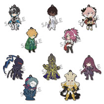 Image: Pikuriru Fate Extella Link Rubber Strap 10-Piece Blind Mystery Box Display  - Hobby Stock