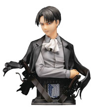 Image: Attack on Titan PMMA & Pu Statue: Levi  (Color version) (1/3 scale) - B-Full (Fots Japan)