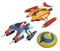 Image: Dynamite Action Figure Set: Marine & Drill Spazer  - Evolution Toys