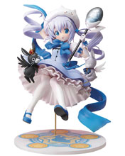 Image: Is the Order a Magic Girl PVC Figure: Mahou Shoujo Chino  (1/7 scale) - Stronger