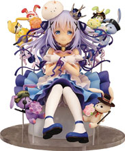 Image: Is the Order a Rabbit PVC Figure: Chino & Rabbit Dolls  (1/7 scale) - Easy Eight
