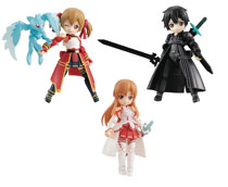 Image: Desktop Army Sword Art Online Collab Col 01 3-Piece Display  - Megahouse Corporation