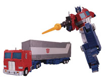 Image: Transformers Masterpiece Action Figure: Optimus Prime  (Ver3) - Hasbro Toy Group