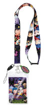 Image: Disney Lanyard: Villains  (3D Foam Style) - Monogram Products