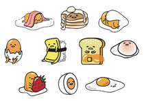 Image: Gudetama Series 2 Squishme 24-Piece Display  - Ucc Distributing