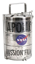 Image: NASA Lunch Tins: Apollo Moon Landing - Film Canister  - Crowded Coop, LLC