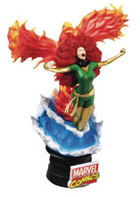 Image: Marvel Comics D-Stage Series Statue: Phoenix  (6-inch) -
