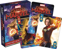 Image: Marvel Playing Cards: Captain Marvel Movie  -