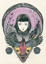 Image: Blackwood: Mourning After #3 (cover B - Momoko) - Dark Horse Comics
