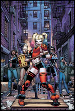 Image: Harley Quinn & the Birds of Prey #2 (variant cover - Derrick Chew) - DC - Black Label