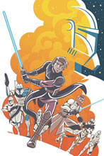 Image: Star Wars Adventures: Clone Wars #1 (cover A - Charm) - IDW Publishing