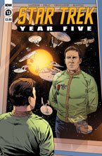 Image: Star Trek: Year Five #13 - IDW Publishing