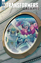 Image: Transformers: Galaxies #8 (cover B - Chan) - IDW Publishing