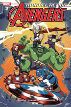 Image: Marvel Action Avengers #3 (2020) (incentive 1:10 cover - Coleman) - IDW Publishing
