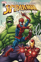 Image: Marvel Action Classics: Avengers Starring Iron Man #1 - IDW Publishing
