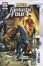 Image: Fantastic Four #21 (EMP) (variant Marvel Zombies cover) - Marvel Comics