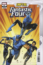 Image: Fantastic Four #21 (EMP) (variant cover - Empyre) - Marvel Comics