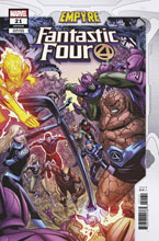 Image: Fantastic Four #21 (EMP) (variant Confrontation cover - Zircher) - Marvel Comics
