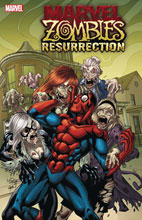 Image: Marvel Zombies: Resurrection #1 (variant cover - Lubera) - Marvel Comics